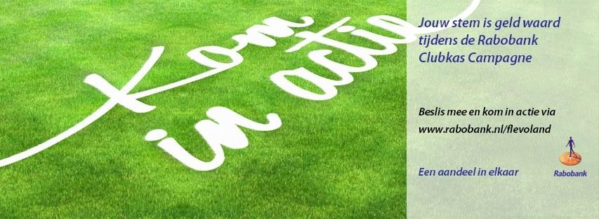 Rabobank Clubkas Campagne: Stem op BAS Voetbal!