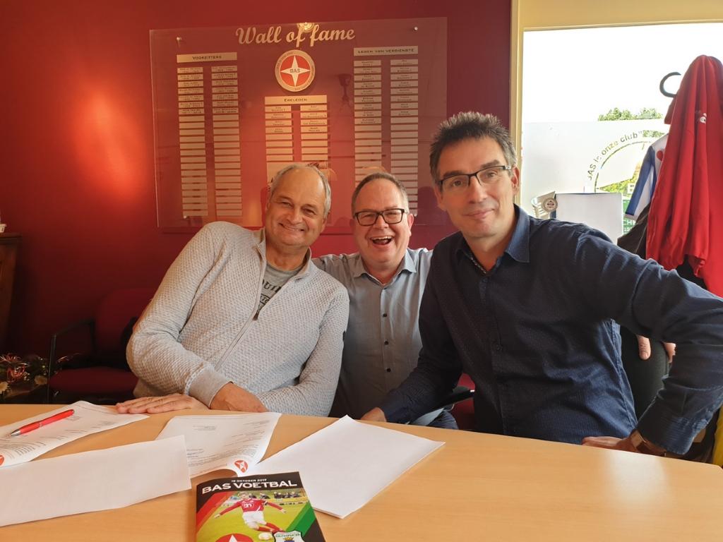 Hoofdsponsor AH Jan Schuurhuis verlengt contract met BAS Voetbal