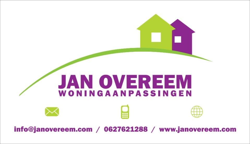 Balsponsor: Jan Overeem Woningaanpassingen